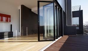 Bi Folding Glass Doors Exterior Folding Glass Patio Door Peytonmeyer Net