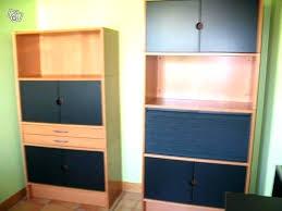 bureau dans placard armoire rideau bureau bureau placard armoire rideau bureau occasion
