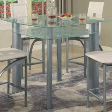 all glass dining room table glass kitchen dining tables you ll love wayfair