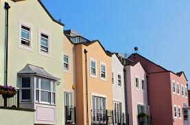 free photo row houses housing houses homes free image on