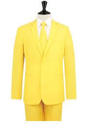 yellow suit dobell