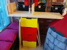 kids loft kura bed with nordli stairs ikea hackers ikea hackers