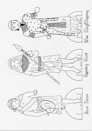 messianic education trust u0027s kids u0027 website pesach paper dolls