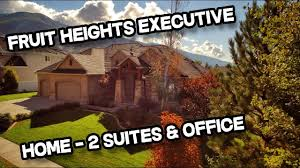executive 4 bed 4 bath rambler home for sale in fruit heights utah