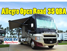 2013 tiffin allegro gas open road 35 qba for sale at dixie rv in