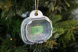 notre dame stadium ornament 2016 zverse 3d printed licensed