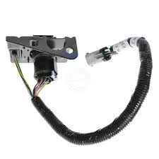 ford 4 u0026 7 pin trailer tow wiring harness w plug u0026 bracket for