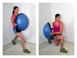 Sitting On A Medicine Ball At Desk 10 Bosu Ball Exercises To Work Out Your Core U0026 Improve Balance