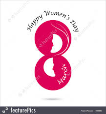 creative images international creative 8 march logo vector design international women s day