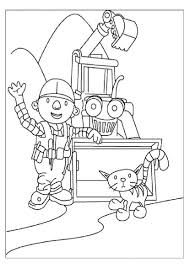 bob the builder characters coloring pages youtuf com