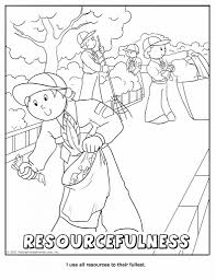 cub scout coloring page