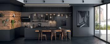ilot cuisine table mobalpa awesome ilot cuisine avec table central et salle a