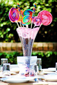 Non Flower Centerpieces For Wedding Tables by Candy Table Centerpieces Non Floral Reception Centerpieces