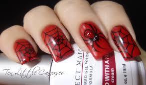 weekly mani halloween themed nail art