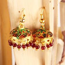 craftsvilla earrings meenakari earrings 5 rs 249 craftsvilla