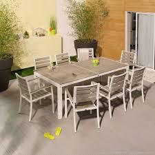 Cdiscount Table De Jardin by Salon De Jardin Bois Blanc U2013 Qaland Com