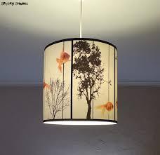 Diy Drum Pendant Light Pendant Drum Shade Lighting Light Whitedelier With Crystals L