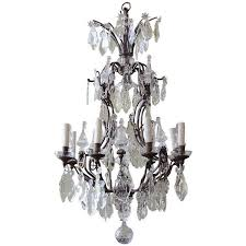 Crystal And Bronze Chandelier Antique Bronze Chandeliers The Uk U0027s Premier Antiques Portal