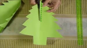 Arts And Crafts Christmas Tree - 3 ways to make a paper christmas tree wikihow