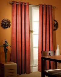 Terracotta Blackout Curtains Terracotta Eyelet Curtains Homeminimalist Co