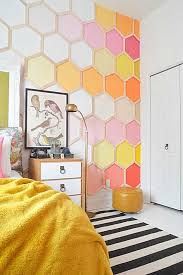 wall decorating ideas for bedrooms cool cheap but cool diy wall ideas for your walls