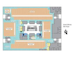 University Library Floor Plan Study Rooms Spaces Sdsu Library And Information Access
