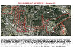 Nyc Marathon Route Map Tallulah Half Marathon