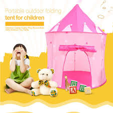 play tent kids portable cubby house foldable castle outdoor sport