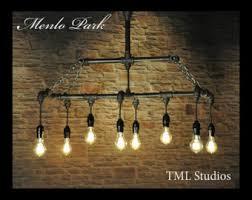 Filament Bulb Desk Lamp Industrial Plumbing Pipe Edison Light Fixture Desk Lamp