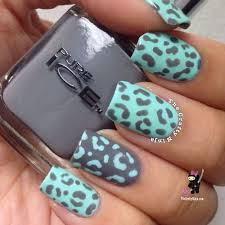 Nail Designs Cheetah Cheetah Nail Designs 2014 Print Nails Cheetah