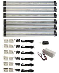 under cabinet lighting strips 16 ft 4 inch undercabinet led strip light daylight white under