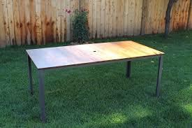 Redwood Dining Table Redwood Outdoor Dining Table U2014 Shutze Studio