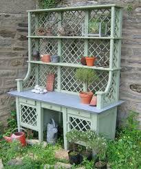Garden Potting Bench Ideas Cool Diy Garden Potting Table Ideas