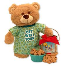 get well soon gift basket gift basket drop shipping get well soon teddy and cookie pail
