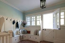 Wooden Entryway Bench Furniture L Shaped White Wooden Entryway Bench And Shelf Having