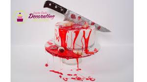 halloween horror finger cake youtube