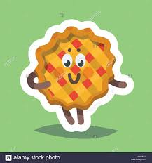 vector illustration emoticon emoji icon on theme of autumn