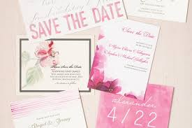 Make Your Own Save The Dates Wedding Invitations Wedding Stationery