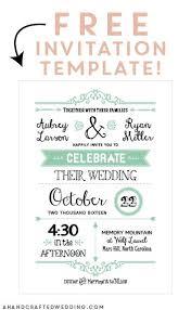 invatation template best 25 free invitation templates ideas on