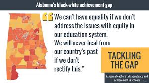 examining the achievement gap between white and black students in