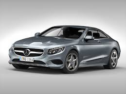 mercedes model 3d mercedes s63 amg coupe 2015 cgtrader