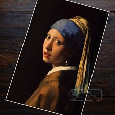 vermeer earring the girl with a pearl earring vermeer paintings classic version