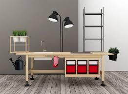 Créer Des Meubles De Bureau En Combinant Des Meubles Ikea Meubles De Bureau Design