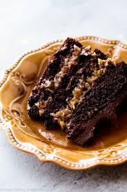 photo cake upgraded german chocolate cake sallys baking addiction