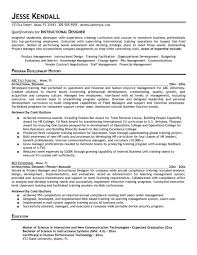 Interior Design Resume Templates by Instructional Design Resume Best Resume Collection