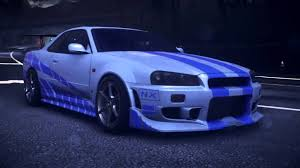 nissan r34 fast and furious brian skyline gtr r34 2 fast 2 furious fast and furious 2 nissan