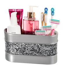 Bathroom Countertop Organizer by Amazon Com Brushed Nickel Bathroom Organizer Cosmetic Organizer