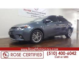 used 2015 toyota corolla for sale pricing u0026 features edmunds