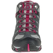 merrell womens hiking boots sale merrell s accentor mid wp hiking shoes castlerock beet