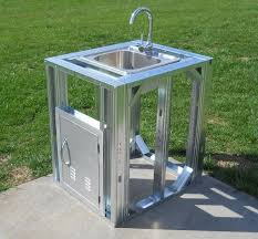 Outdoor Kitchen Sinks And Faucet Great Outdoor Kitchen Sinks And Faucet About House Remodel Ideas